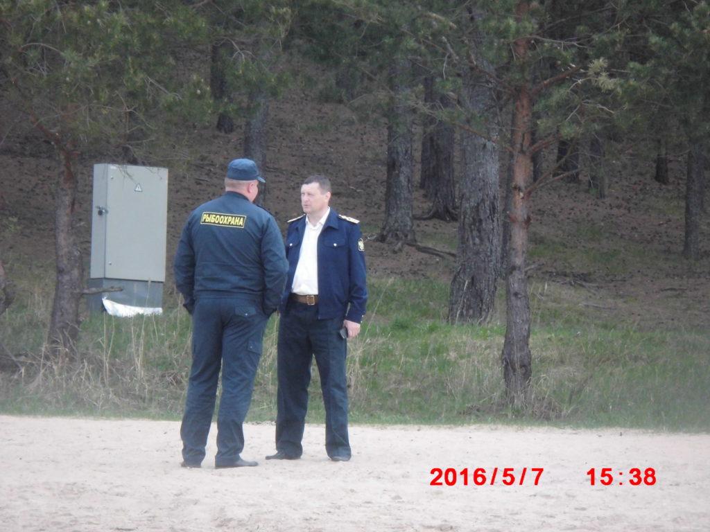 Руковдитель Верхневолжского ТУ С. Ямщиков.