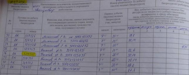 Выделен номер путевки и дата выдачи